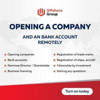 Opening a company and an bank account remotely